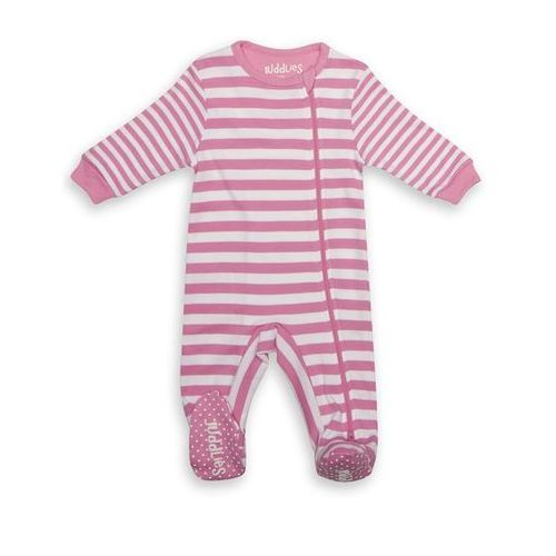 Juddlies Pajacyk Sachet Pink Stripe 0-3m, 6002594