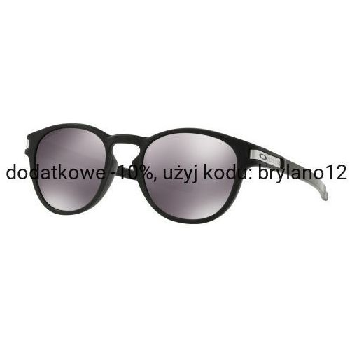 Oakley Okulary latch grid collection matte black prizm black iridium oo9265-4053