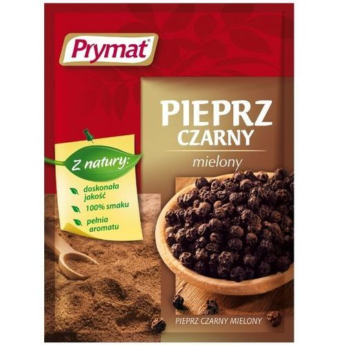 Pieprz czarny mielony 20 g Prymat (5901135000376)