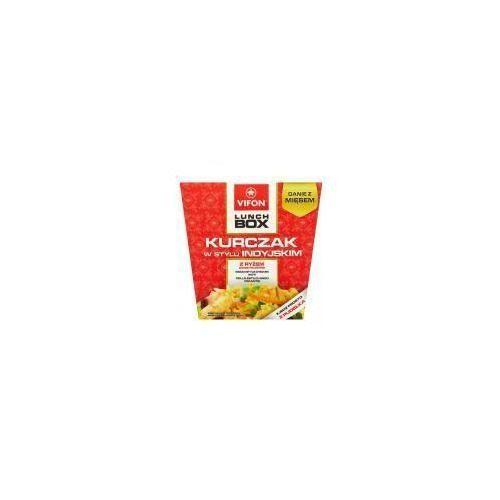 Lunch Box Danie błyskawiczne kurczak w stylu indyjskim z ryżem 179 g Vifon