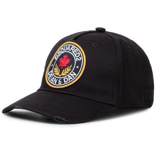 Czapka z daszkiem DSQUARED2 - Patch Cargo Baseball Caps BCM0254 05C00001 2124 Nero, kolor czarny