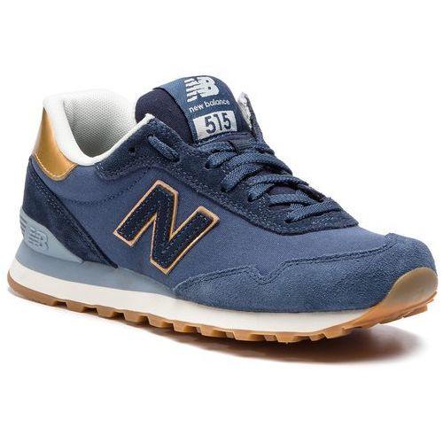 Sneakersy NEW BALANCE - WL515FNE Granatowy, kolor niebieski