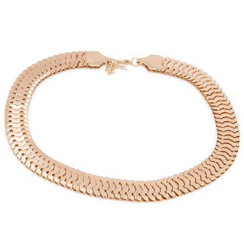 Naszyjnik złoty łańcuch - złoty, marki Cloe