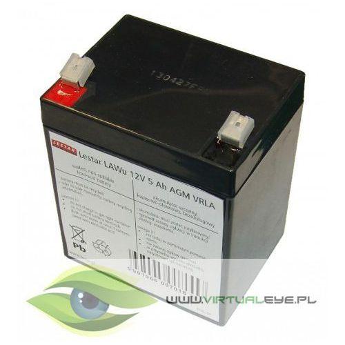 Lestar Akumulator wymienny LAWu 12V 5Ah AGM VRLA (5901966007018)