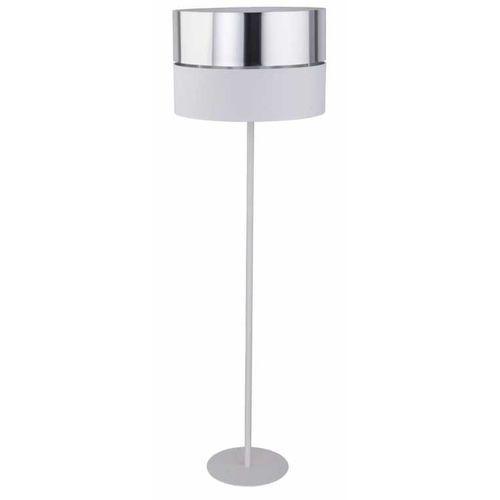 Tklighting Tk lighting hilton 5470 lampa stojąca podłogowa 1x60w e27 biały/srebrny (5901780554705)