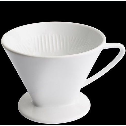 Cilio - porcelanowy filtr do kawy na 2 filiżanki (średnica: 12 cm)