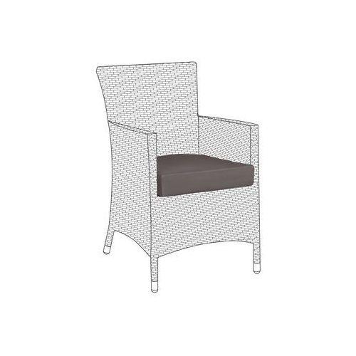 Poszewki brązowe 8 sztuk na poduszki siedziskowe do krzesła ITALY