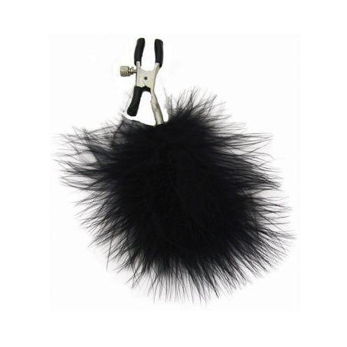 Sex&mischief Zaciski na sutki - s&m feathered nipple clamps
