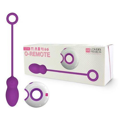 Jajeczko zdalnie sterowane - LoversPremium O-Remote Control Egg Leya fioletowe