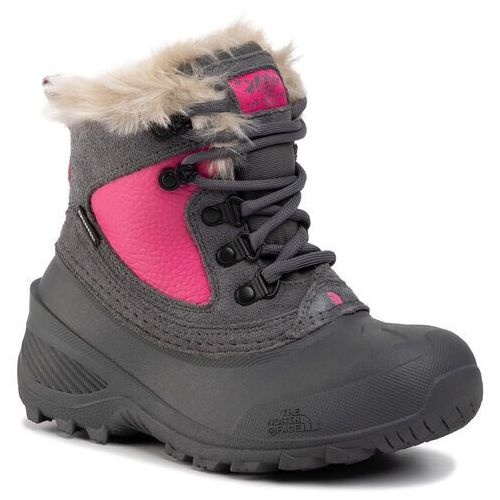 Śniegowce THE NORTH FACE - Youth Shellista Extreme T92T5VH7D Zinc Grey/Mr. Pink
