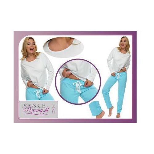 Piżama damska elizabeth kolor: niebieska marki Italian fashion