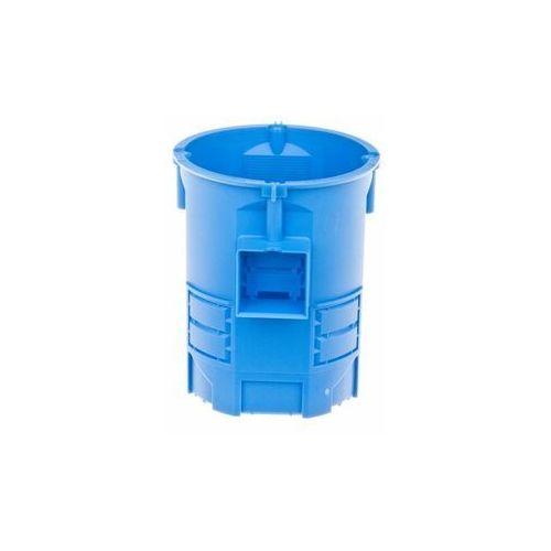 Puszka podtynkowa fi 60mm niebieska 80mm głębokości s60g 34008203 /35szt./ marki Przedsiębiorstwo simet s.a.