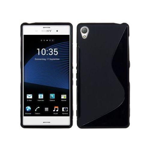 Futerał Back Case S-Line Sony Xperia Z3 d6603 CZARNY