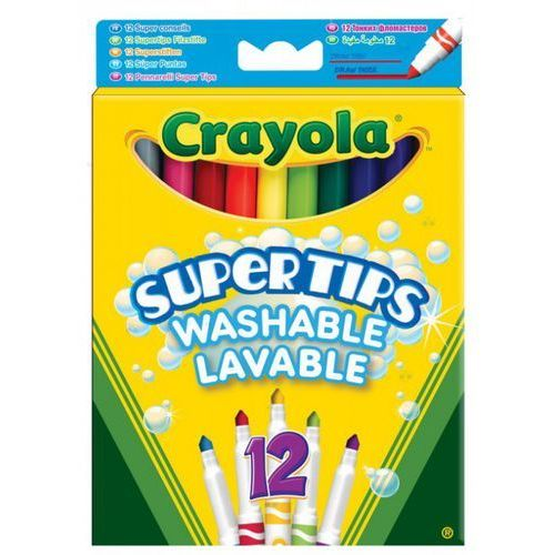 Crayola flamastry supert ips pastel.12szt