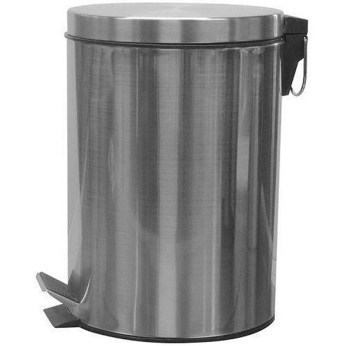 Ba-de Kosz na śmieci 12 litrów stal matowa