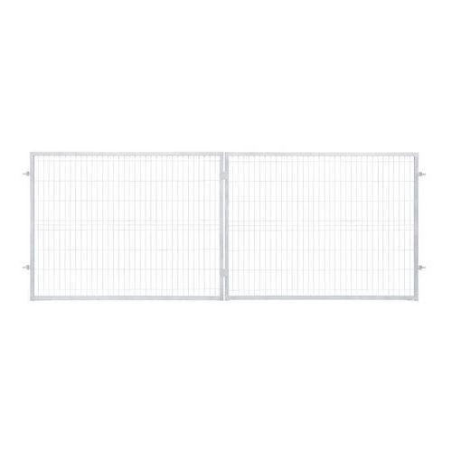 Brama panelowa Polbram Steel Group 2D 400 x 150 cm oczko 5 x 20 cm ocynk