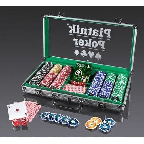 , karty, zestaw pokerowy, propoker 300 żetonów marki Piatnik