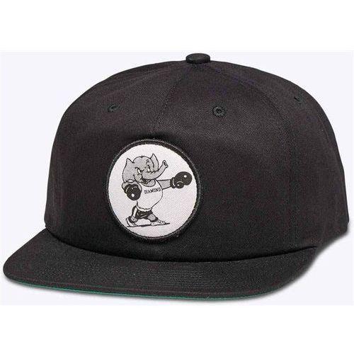 Diamond Czapka z daszkiem  - heavy mascot - unstrd black (blk) rozmiar: os