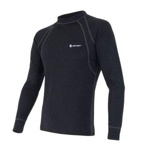 Sensor double face men's t-shirt long sleeves czarny l 2014-2015