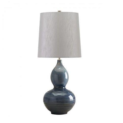 Lapis gourd nocna lapis gourd/tl 71cm ceramika-niebieski-srebrny marki Elstead