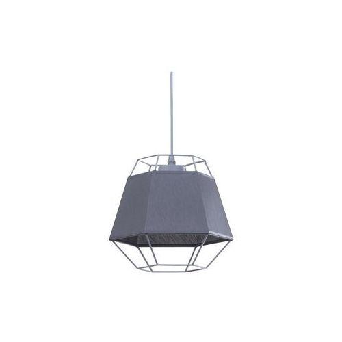 Tklighting Lampa wiszaca druciana zwis diament tk lighting crystal gray 1x60w e27 szara 2339 (5901780523398)