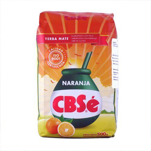 Cbse naranja 0,5kg (pomarańczowa) yerba mate marki Intenson