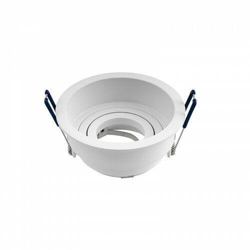 Oxyled Crosti lana ro s biała śr. 10,5cm. gu10 home&decor oczko sufitowe 459215 (5902701459215)