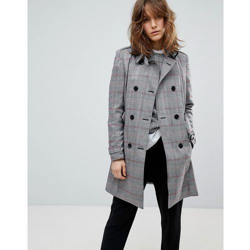 check trench - grey marki Stradivarius