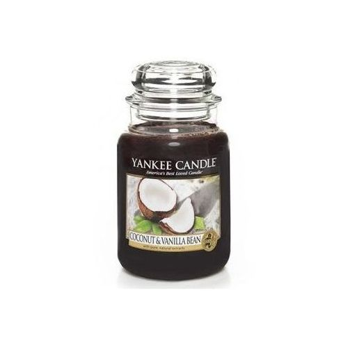 Yankee home Świeca yankee słoik duży coconut & vanilla bean - ysdcvb (5038581036205)