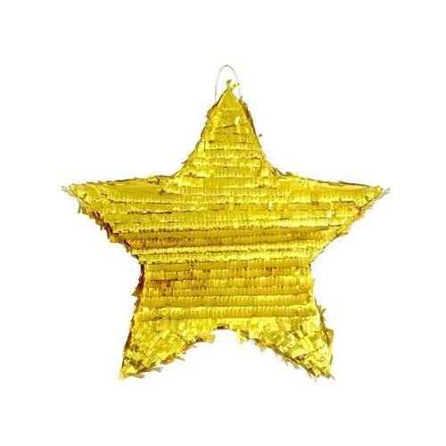 Twojestroje.pl Pinata gwiazda złota 45cm