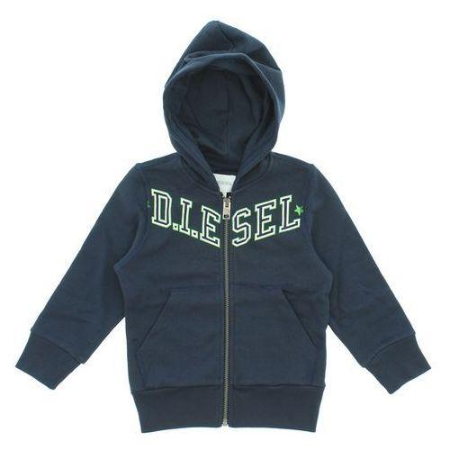 Diesel Dresowy zestaw dziecięcy Niebieski 4 lata