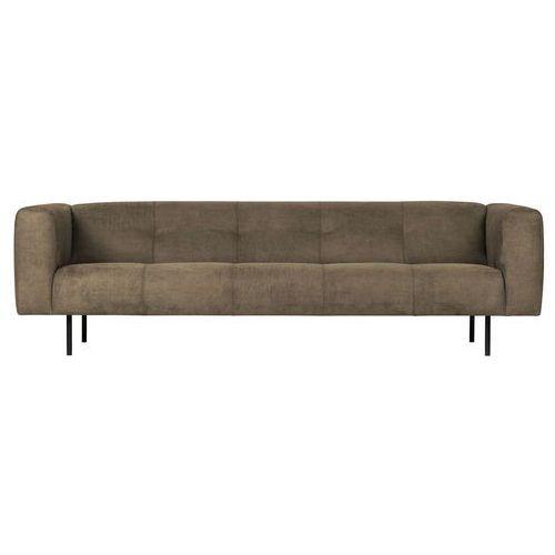 Woood Sofa Skin 4-osobowa 2,5 m oliwkowa zieleń 375113-O, kolor zielony