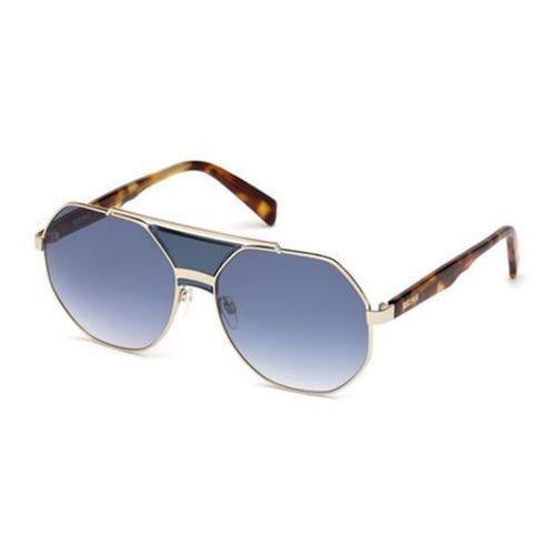 Just cavalli Okulary słoneczne jc 828s 90w