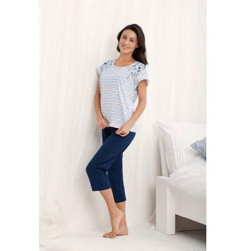 Piżama damska model marika 569 grey, Luna