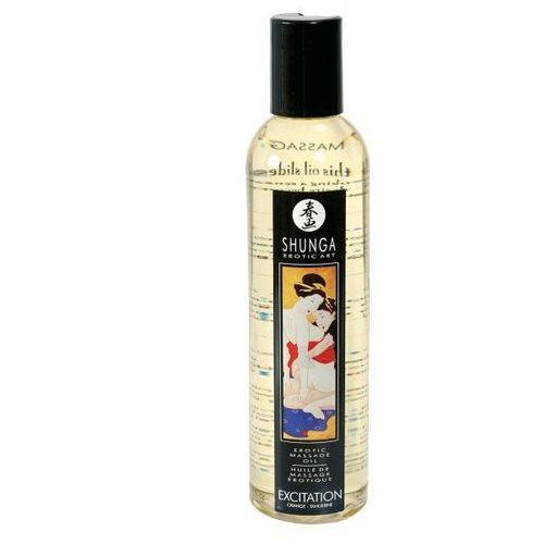 Olejek do masażu excitation orange 250 ml | 100% dyskrecji | bezpieczne zakupy marki Shunga (can)