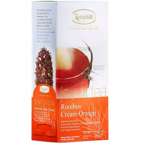 Ronnefeldt Herbata Joy of Tea Rooibos Cream Orange, 15 szt.