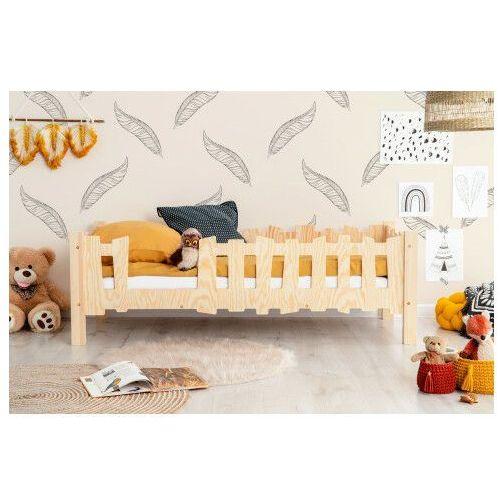 Producent: elior Drewniane łóżko dziecięce ze stelażem 12 rozmiarów - tiffi 2x