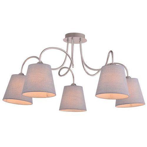 Candellux luk 35-70753 plafon lampa sufitowa 5x40w e14 chrom