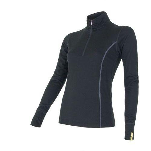 Sensor merino wool koszula damska czarny l (8595233889253)
