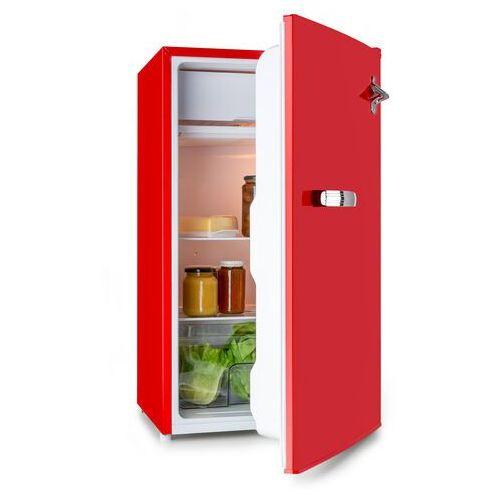 beercracker 90l, lodówka, eec a+, zamrażalnik, otwieracz do butelek, czerwona marki Klarstein