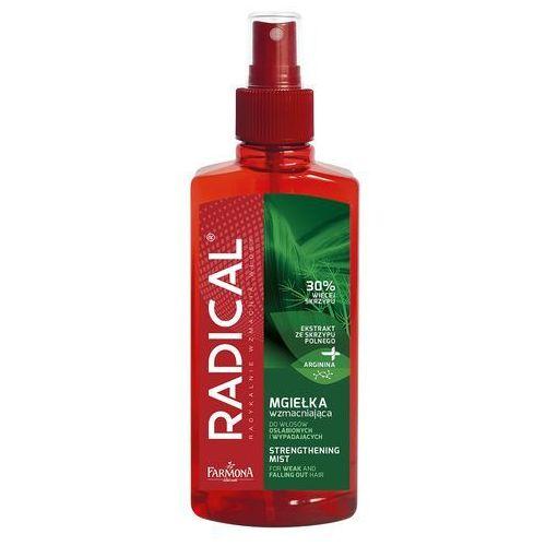 radical mgiełka wzmacniająca do włosów osłabionych i wypadających 200ml marki Farmona