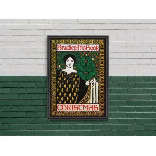 Plakat plakat bradley książce boże narodzenie marki Vintageposteria.pl