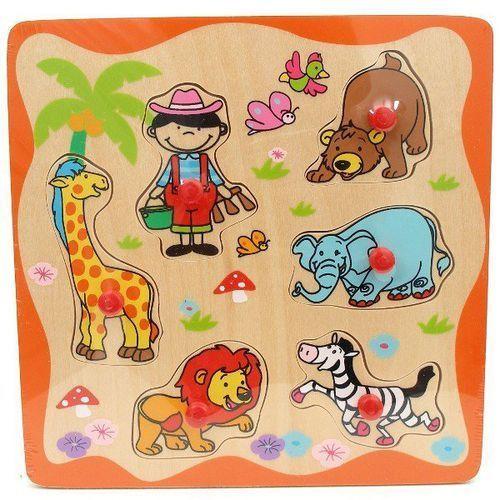 Brimarex - drewniane puzzle, zoo - brimarex drewno