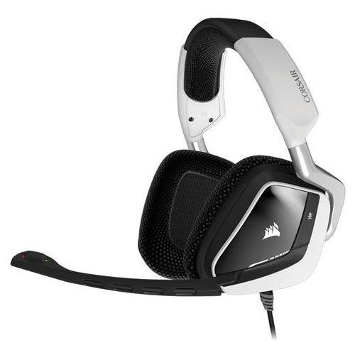 Corsair Corsair Gaming Headset VOID RGB USB Dolby 7.1 White Darmowy transport od 99 zł | Ponad 200 sklepów stacjonarnych | Okazje dnia!