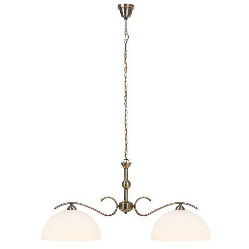 Lampa wisząca Rabalux Aurelia 2x60W E27 brąz 7139 (5998250371399)