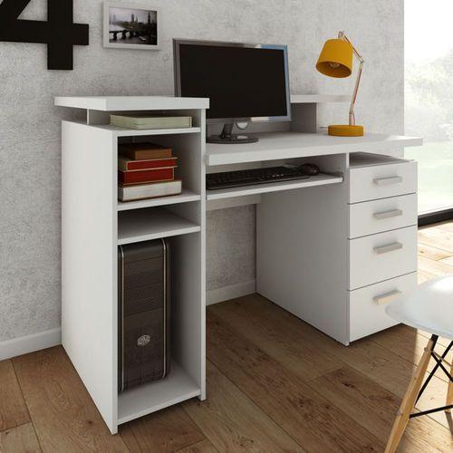 Function biurko białe z nadstawką marki Tvilum