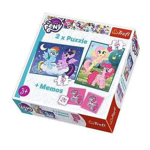 30, 48 ELementów + Memo - Przyjaźń to magia My Little Pony - Trefl