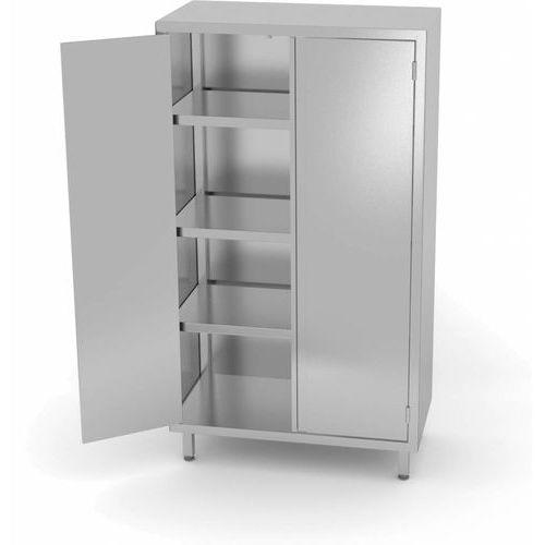 Xxlselect Szafa magazynowa 2000mm z drzwiami na zawiasach | szer: 700 - 1200mm | gł: 600mm
