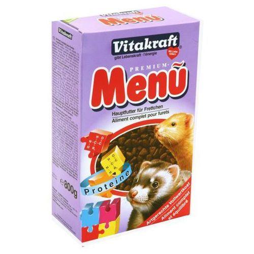 Vitakraft  menu ferret - sucha karma dla fretki i łasiczki, kategoria: pokarmy dla gryzoni