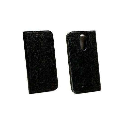 LG K4 (2017) - etui na telefon Flex Book - czarny, kolor czarny